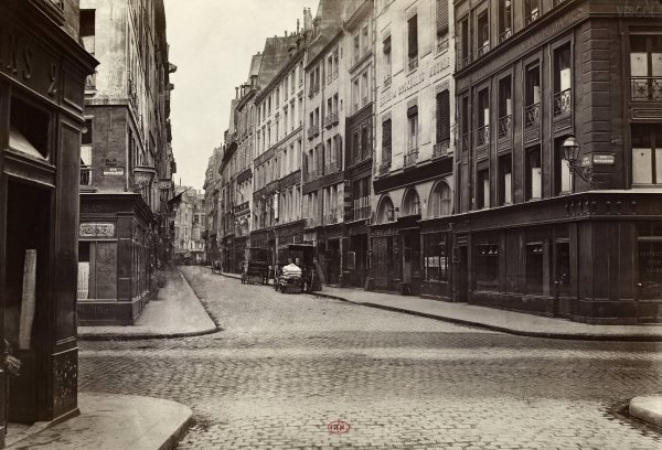 Marville : rue du Mail