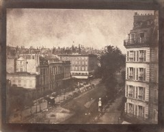 View of the Boulevards at Paris, 1843