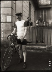 Georges Lorgeou, cycliste, 1909