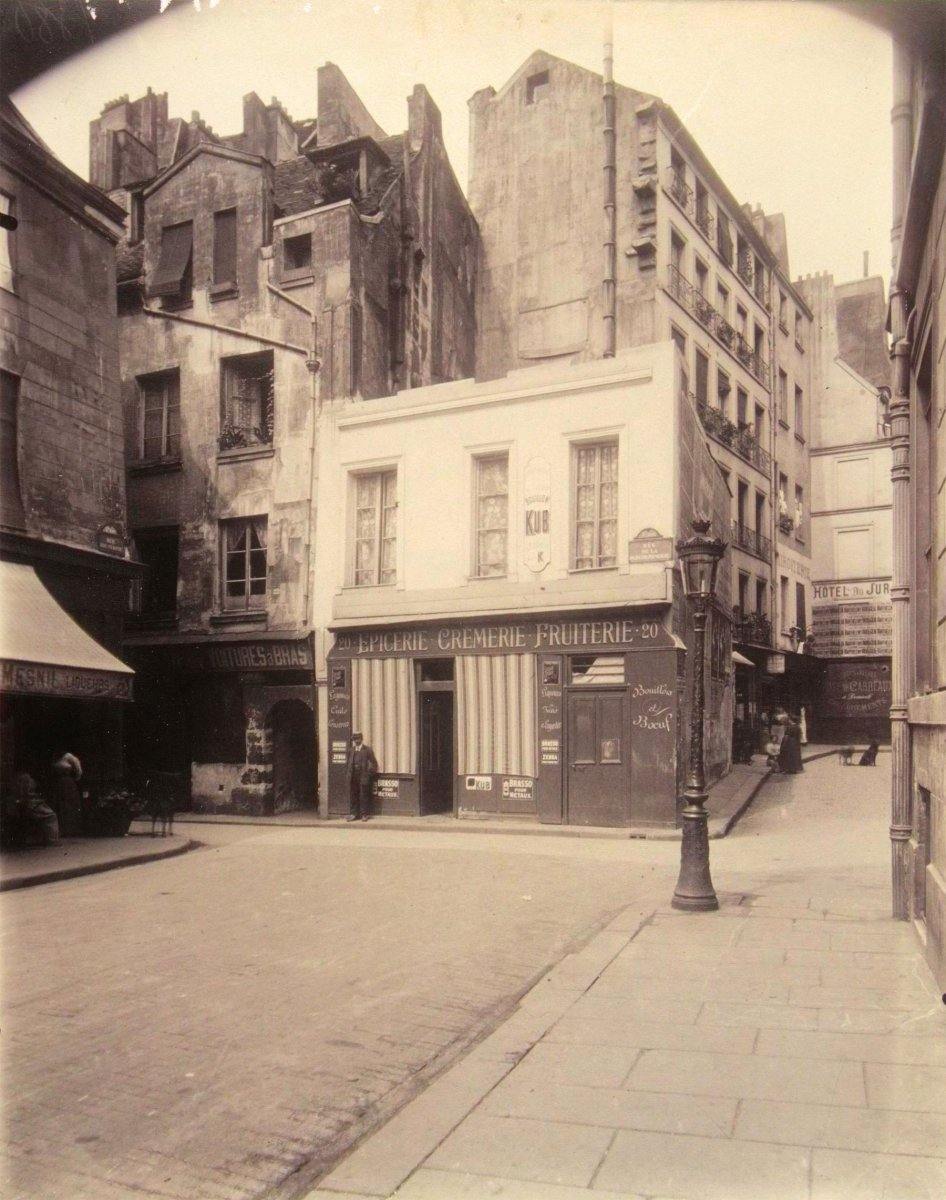 No 20, rue de la Parcheminerie, 1912