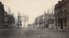 Charles Marville : avenue d'Iéna