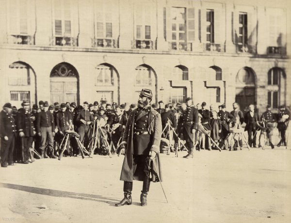 Braquehais : Mayer, commandant de la place Vendôme