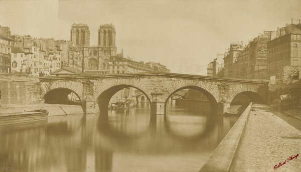 Collard : ancien pont Saint-Michel, Paris