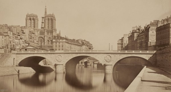Collard : nouveau pont Saint-Michel, Paris