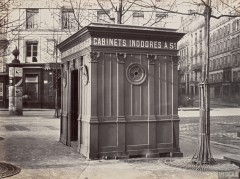 Cabinets inodores, place Saint-Sulpice