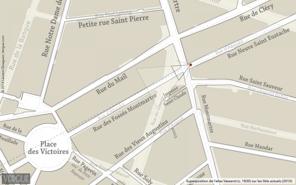 Plan rue d'Aboukir