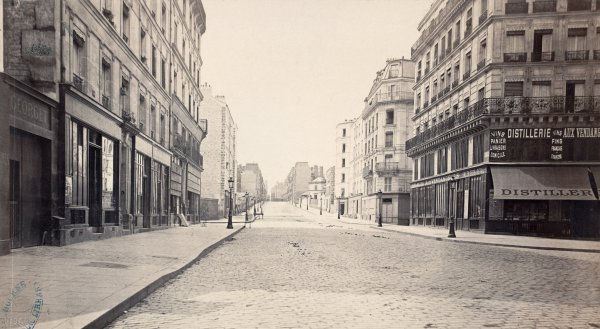 Charles Marville : rue des Feuillantines